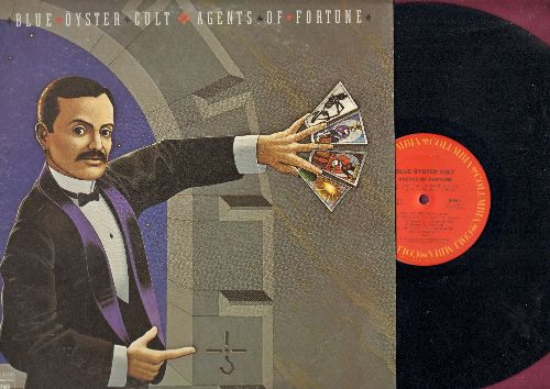 Blue Oyster Cult - Agent Of Fortune: This Ain't The Summer Of Love, (Don't Fear) The Reaper, The Revenge Of Vera Gemini, Sinful Love (vinyl STEREO LP record) - NM9/EX8 - LP Records