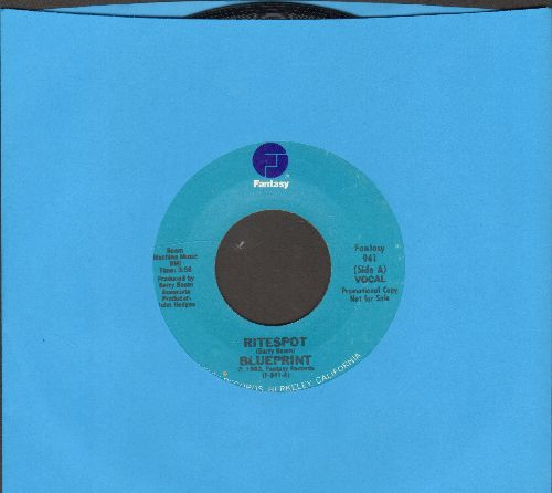 Blueprint - Ritespot/Ritespot (Instrumental) - NM9/ - 45 rpm Records