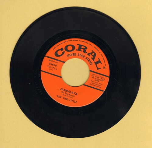 Little, Big Tiny - Jambalaya (On The Bayou)/You're The Only World I Know - NM9/ - 45 rpm Records
