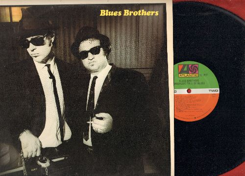 Blues Brothers - Blues Brothers: Soul Man, Groove Me, Rubber Biscuit, Shot Gun Blues, Hey Bartender (Vinyl STEREO LP record) - M10/NM9 - LP Records