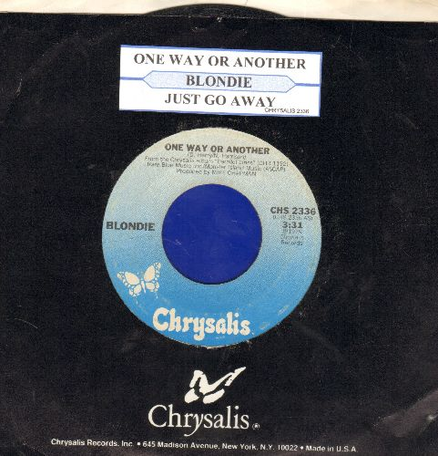 Blondie - One Day Or Another/Just Go Away (with juke box label and Crysalis company sleeve) - EX8/ - 45 rpm Records