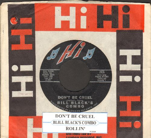 Black, Bill Combo - Don't Be Cruel/Rollin' (with juke box label and company sleeve) - NM9/ - 45 rpm Records