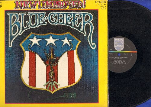 Blue Cheer - New! Improved!: When It All Gets Old, I Want My Baby Back, Aces 'Eights, Honey Butter Lover (vinyl STEREO LP record) - VG7/VG7 - LP Records