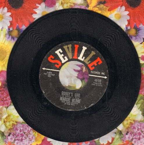 Blane, Marcie - Bobby's Girl/A Time To Dream  - NM9/ - 45 rpm Records