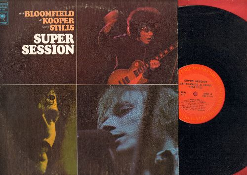 Bllomfield, Mike, Al Kooper, Steve Stills - Super Session: Season Of The Witch, Albert's Shuffle, His Holy Modal Majesty (vinyl STEREO LP record) - EX8/EX8 - LP Records