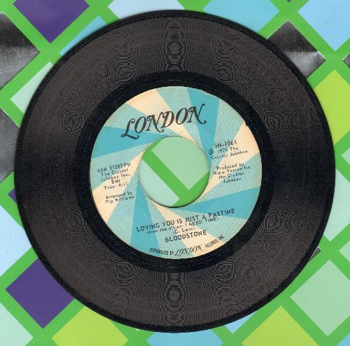 Bloodstone - Loving You Is Just A Pastime/My Little Lady - EX8/ - 45 rpm Records