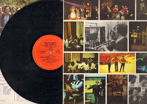 Blood, Sweat & Tears - Blood, Sweat & Tears 3: Hi-De-Ho, Lonesome Suzie, Symphony For The Devil, He's A Runner (Vinyl STEREO LP record, gate-fold cover early pressing) - NM9/EX8 - LP Records