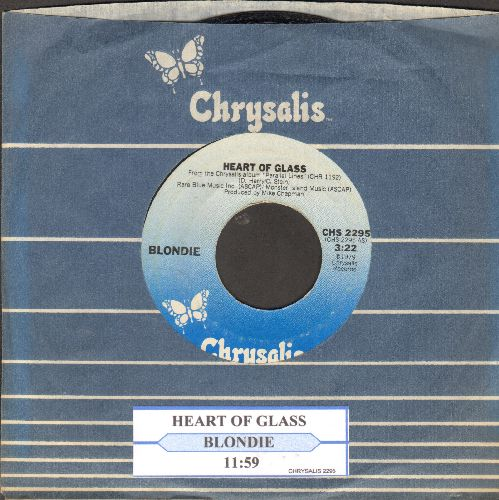 Blondie - Heart Of Glass/11:59 (with juke box label) - EX8/ - 45 rpm Records
