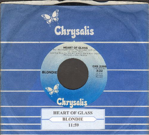Blondie - Heart Of Glass/11:59 (with Chrysalis company sleeve and juke box label) - NM9/ - 45 rpm Records