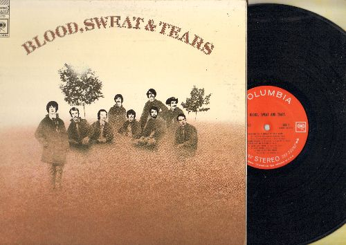 Blood, Sweat & Tears - Blood, Sweat & Tears: And When I Die, More And More, God Bless The Child, You've Made Me So Very Happy (Vinyl STEREO LP record, gate-fold cover) - EX8/EX8 - LP Records