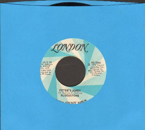 Bloodstone - Peter's Jones/Natural High - NM9/ - 45 rpm Records
