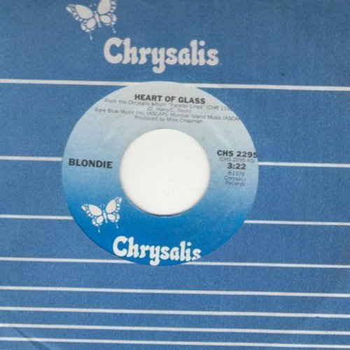 Blondie - Heart Of Glass/11:59 (with Chrysalis company sleeve) - NM9/ - 45 rpm Records