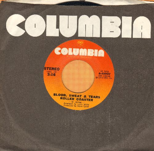 Blood, Sweat & Tears - Roller Coaster/Inner Crisis (with Columbia company sleeve) - EX8/ - 45 rpm Records