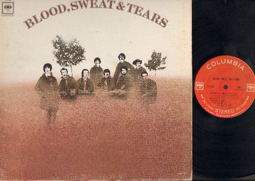 Blood, Sweat & Tears - Blood, Sweat & Tears: And When I Die, More And More, God Bless The Child, You've Made Me So Very Happy (Vinyl STEREO LP record, gate-fold cover) - NM9/VG7 - LP Records