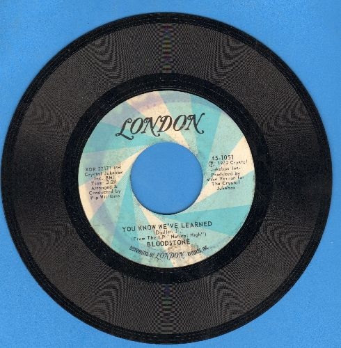 Bloodstone - You Know We've Learned/Never Let You Go - EX8/ - 45 rpm Records