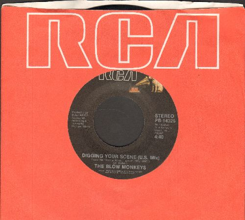 Blow Monkeys - Digging Your Scene (U.S. Mix)/Digging Your Scene (U.K. Mix) (with RCA company sleeve) - NM9/ - 45 rpm Records