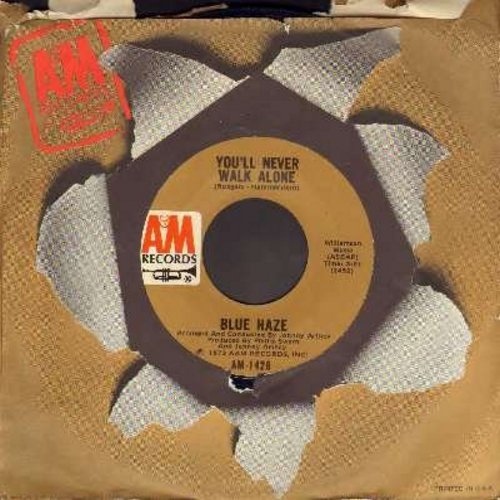 Blue Haze - You'll Never Walk Alone/Take Away My Heart Teresa (with A&M company sleeve) - NM9/ - 45 rpm Records