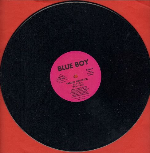 Blue Boy featuring Judy Garland - Trolley Ride (Dance Club Version of the Judy Garland Classic, featuring re-mixes of Garland's voice!)/Hip Hop Will Never Stop (12 inch vinyl Maxi Single) - NM9/ - Maxi Singles