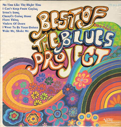 Blues Project, The - Best Of The Blues Project: No Time Like The Right Time, Chery's Going Home, Flute Thing, Wake Me Shake Me (vinyl STEREO LP record, SEALED, never opened!) - SEALED/SEALED - LP Records