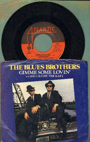 Blues Brothers - Gimme Some Lovin'/She Caught The Katy (with picture sleeve) - NM9/VG7 - 45 rpm Records