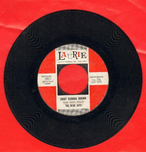 Blue Jays - Sweet Georgia Brown/J. T.'s Blues - VG7/ - 45 rpm Records