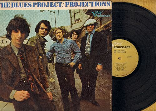 Blues Project - Projections: I Can't Keep from Crying, You Can't Catch Me, Wake Me Shake Me, Fly Away (vinyl LP record, woc) - M10/EX8 - LP Records