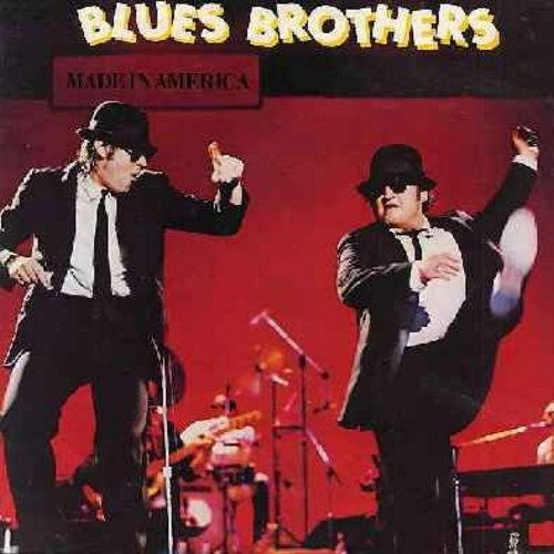 Blues Brothers - Made In America: Green Onions, Do You Love Me, Perry Mason Theme, Riot In Cell Block Number Nine (Vinyl STEREO LP record)  - NM9/EX8 - LP Records