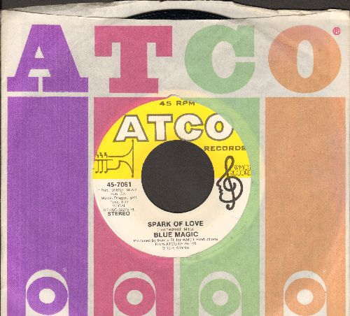Blue Magic - Spark Of Love/Teach Me (It's Something About Love) (with Atco company sleeve) - NM9/ - 45 rpm Records