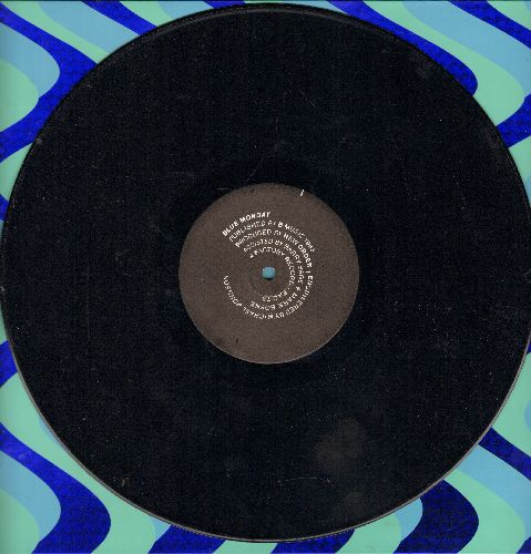 New Order - Blue Monday/The Beach (12 inch vinyl Maxi Single featuring Extended Dance Club versions, 1983 European first pressing) - EX8/ - Maxi Singles