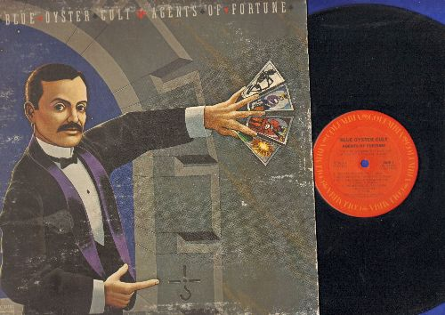 Blue Oyster Club - Agents Of Fortune: (Don't Fear) The Reaper, The Revenge Of Vera Gemini, Debbie Denise, Sinful Love, This Ain't The Summer Of Love (vinyl STEREO LP record, gate-fold cover) - VG7/VG7 - LP Records