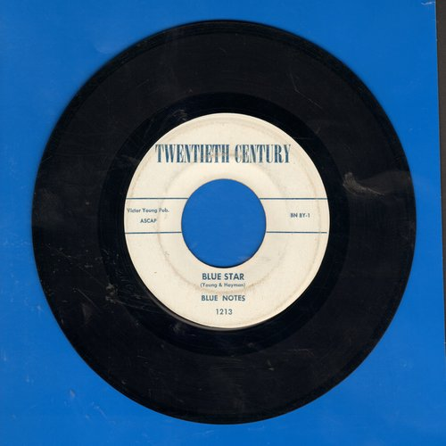 Blue Notes - Blue Star/Pucker Your Lips - EX8/ - 45 rpm Records