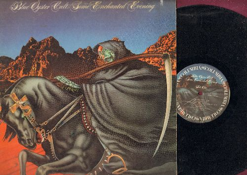 Blue Oyster Cult - Some Enchanted Evening: Godzilla, (Don't Fear) The Reaper, Kick Out The Jams, We  Gotta Get Out Of This Place (vinyl STEREO LP record) - VG7/EX8 - LP Records