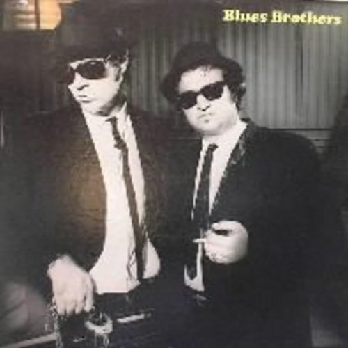 Blues Brothers - Blues Brothers: Soul Man, Groove Me, Rubber Biscuit, Shot Gun Blues, Hey Bartender (Vinyl STEREO LP record) - EX8/VG7 - LP Records