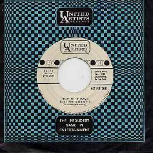 Blue Boys - Short Skirts/The Way The Cookie Crumbles (DJ advance copy with United Artists company sleeve) - NM9/ - 45 rpm Records