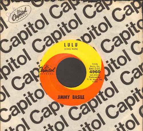 Basile, Jimmy - Lulu/I'll Never Be Anyone But Me (with Capitol company sleeve) - M10/ - 45 rpm Records