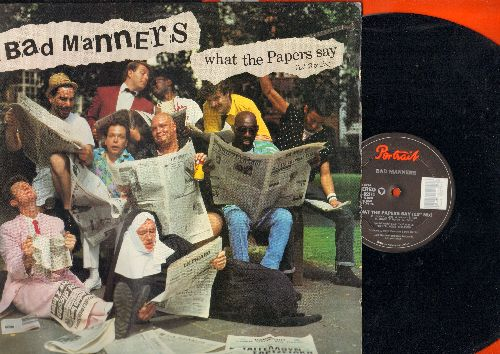 Bad Manners - What The Papers Say (5:28 minutes 12