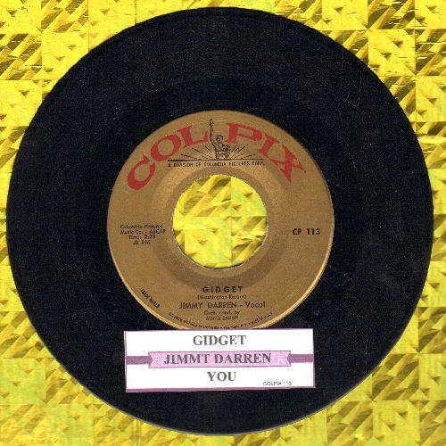 Darren, James - Gidget/You (with juke box label) (sol) - EX8/ - 45 rpm Records