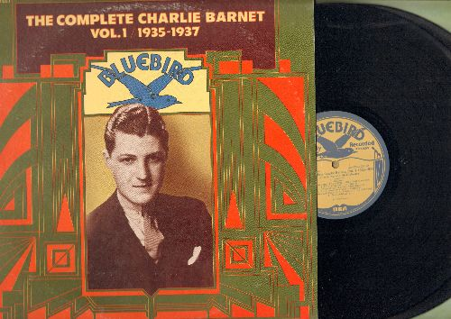 Barnet, Charlie - The Complete Charlie Barnet Vol. 1 1935-1937: I'm An Old Cowhand, Bye Bye Baby, Always, Love Is A Merry-Go-Round (2 vinyl LP record set, gatefold cover) - NM9/EX8 - LP Records