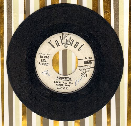 Barry & The Tamberlanes - Butterfly/Roberta (DJ advance pressing) - VG7/ - 45 rpm Records