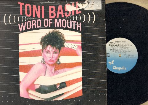 Basil, Toni - Word Of Mouth: Mickey, Rock On, Shoppin' From A to Z, You Gotta Problem, Be Stiff, Nobody, Space Girls, Little Red Book, Time After Time, Thief On The Loose (Vinyl LP record) - NM9/VG6 - LP Records