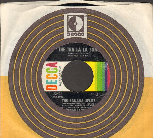 Banana Splits - The Tra La La Song/Toy Piano Melody (with Decca company sleeve)(bb) - EX8/ - 45 rpm Records