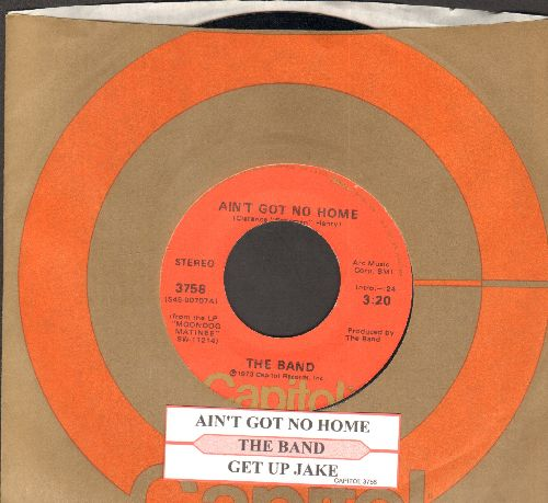 Band - Ain't Got No Home/Get Up Jake (with juke box label and Capitol company sleeve) - NM9/ - 45 rpm Records