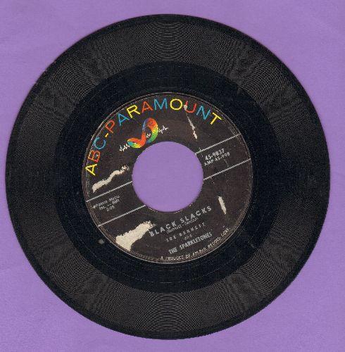 Bennett, Joe & The Sparkletones - Black Slacks/So Tough (by Original Casuals on flip-side) (re-issue) - VG7/ - 45 rpm Records