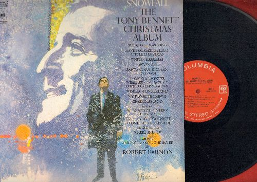 Bennett, Tony - Snowfall - The Tony Bennett Christmas Album: The Christmas Song, White Christmas, Winter Wonderland, Santa Claus Is Comin' To Town (Vinyl STEREO LP record) - EX8/NM9 - LP Records