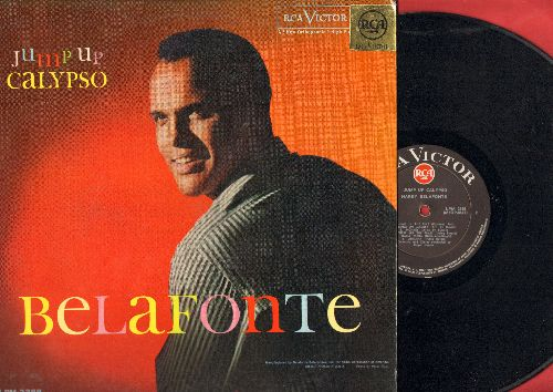 Belafonte, Harry - Jump Up Calypso: Sweetheart From Venezuela, Goin' Down Jordan, Jump In The Line, Angelina, Kingston Market (vinyl MONO LP record, Jamaican Pressing) - NM9/EX8 - LP Records