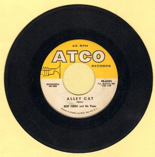 Fabric, Bent & His Orchestra - Alley Cat (FAVORITE FOR BEGINNERS' TAP DANCING)/Makin' Time  - NM9/ - 45 rpm Records