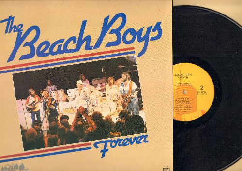 Beach Boys - Forever: Surfin' U.S.A., Surfer Girl, I get Around, California Girls, Good Vibrations, Help Me Rhonda (vinyl LP record) - NM9/NM9 - LP Records