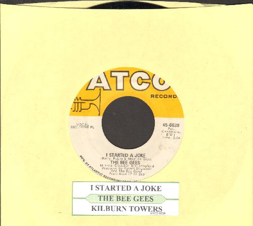 Bee Gees - I Started A Joke/Kilburn Towers (with juke box label) (bb) - NM9/ - 45 rpm Records