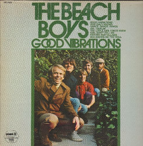 Beach Boys - Good Vibrations: 409, The Little Girl I Once Knew, God Only Knows, Heroes And Villains (vinyl LP record) - NM9/EX8 - LP Records