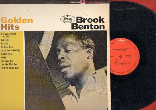 Benton, Brook - Golden Hits: So Many Ways, Thank You Pretty Baby, Kiddio, The Same One, Endlessly, With All Of My Heart (Vinyl STEREO LP record, NICE condition!) - NM9/VG7 - LP Records
